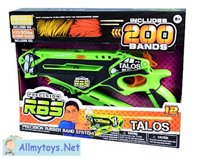 Super Impulse RBS Rubberband Toy Gun Talos