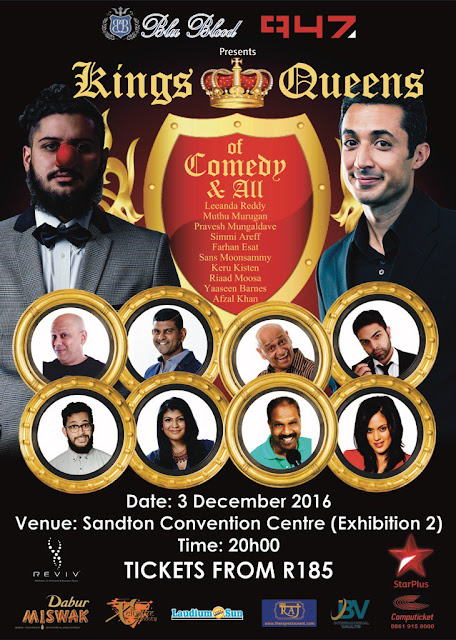 @BluBloodSA Brings @KNQComedy @947 @StarPlus #KNQComedy