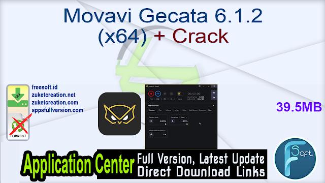 Movavi Gecata 6.1.2 (x64) + Crack