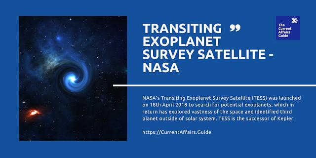 Transiting Exoplanet Survey Satellite - NASA