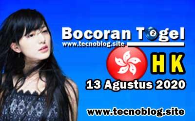 Bocoran Togel Hongkong 13 Agustus 2020