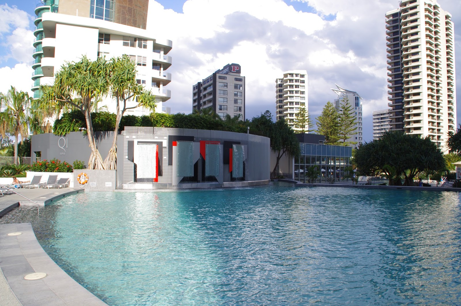 Q1 Resort and Spa Swimming Pool Gold Coast