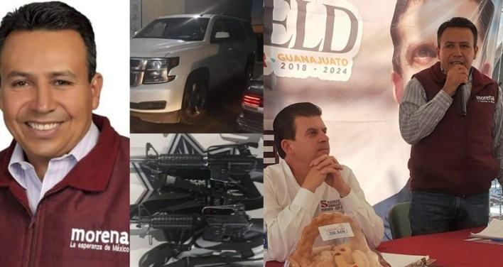 """Vídeos: a José Antonio Yepez Ortiz """"El Marro"""" lo protege el Morenista Alejandro Tirado Zuñiga Presidente Municipal de Acambaro; Guanajuato"""