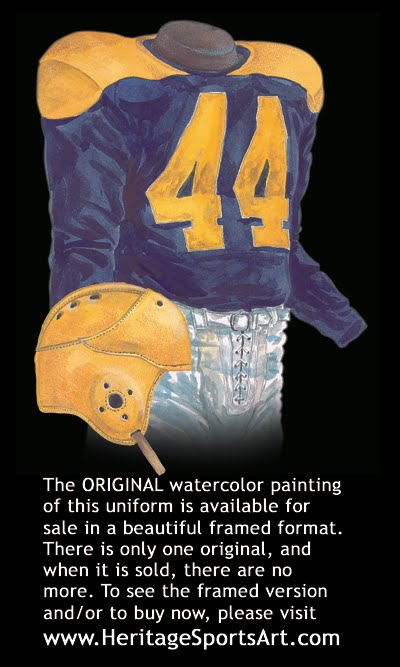 Cleveland Rams 1940 uniform - St. Louis Rams 1940 uniform a50df84d4b49