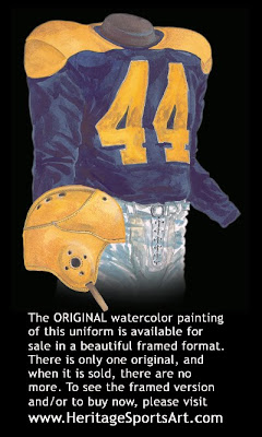 Cleveland Rams 1940 uniform - St. Louis Rams 1940 uniform