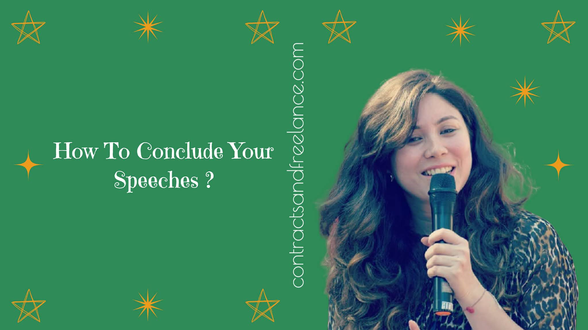Public Speaking Tips: How to conclude your speeches | Nancy Shah