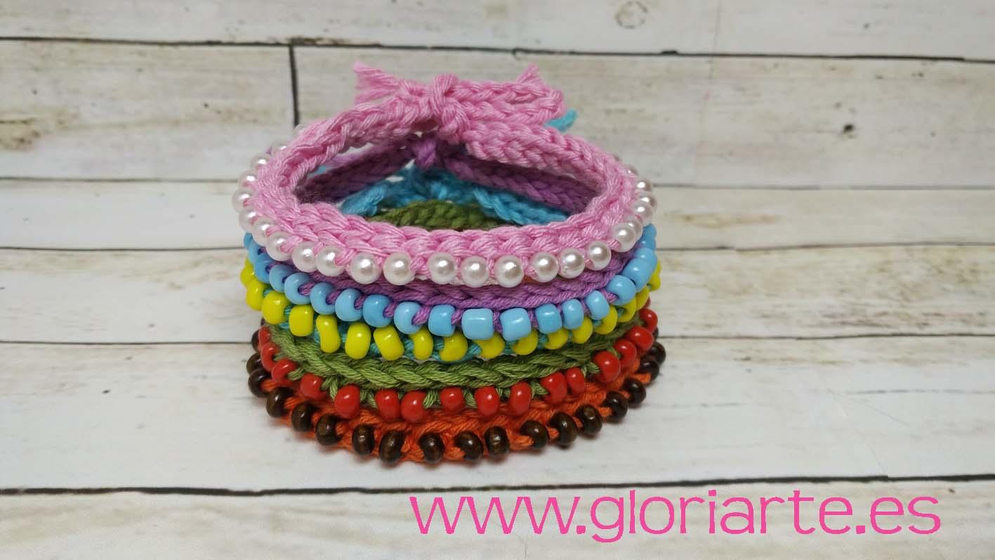 f029a646f963 Collar De Crochet Con Abalorios - Wallpaperzen.org