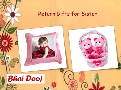 return bhai dooj gifts for sister