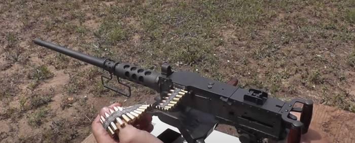 Кулемет Browning M-2 у масштабі 1:2 під набій .22LR