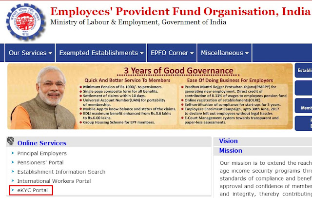 provident fund account