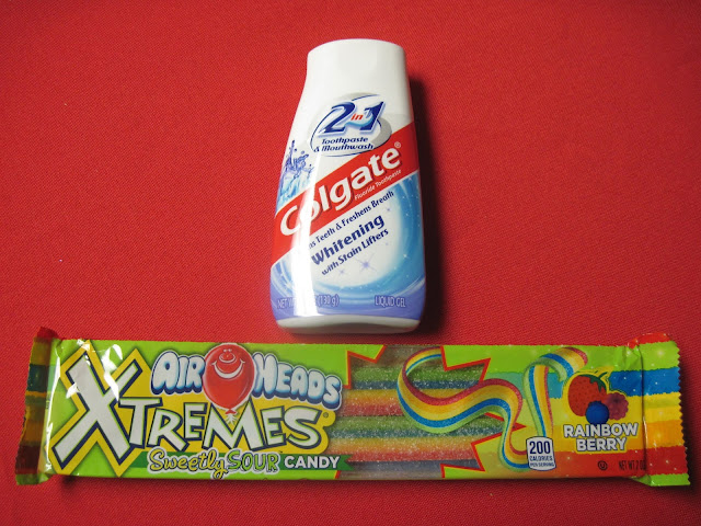 Toothpaste and Candy no longer allowed in Operation Christmas Child shoeboxes.