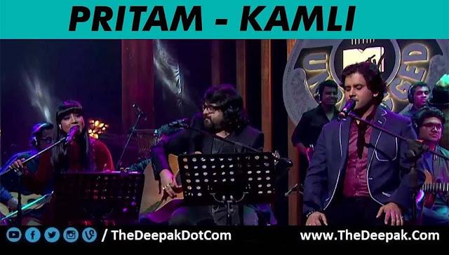 Kamli - Pritam, Shilpa Rao, Javed Ali @ MTV Unplugged 5