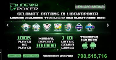 Lidewapoker | Website Poker Online Terbaik Dan Terpercaya Di Indonesia