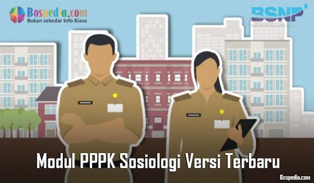 Modul PPPK Sosiologi Versi Terbaru