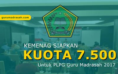 quota plpg guru madrasah 2017