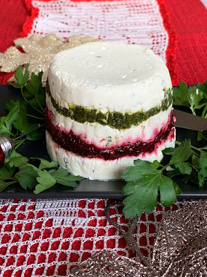 Festive Layered Cheese Spread