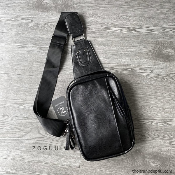 Túi đeo ngực da nam cá tính BAF272