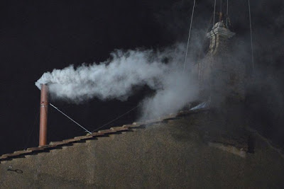 Conclave, new pope, white smoke, 2013, Vatican, Sistine Chapel