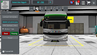 Review Livery Bus Bussid Budiman Shd + Link Download Livery Bus bussid Budiman xhd