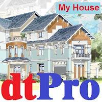 Phần mềm dự toán nhà dân dtPro MyHouse