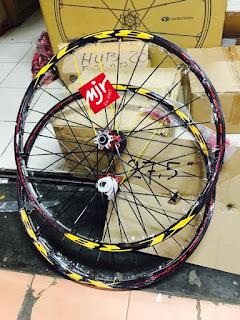 Wheelset XLR8 27,5 inch mirip Mavic