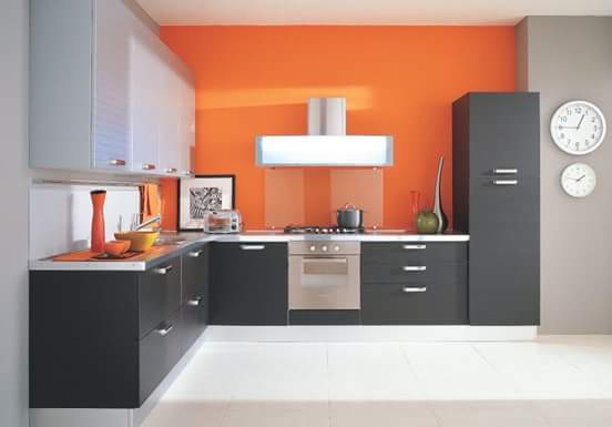 kitchen set minimalis elegan