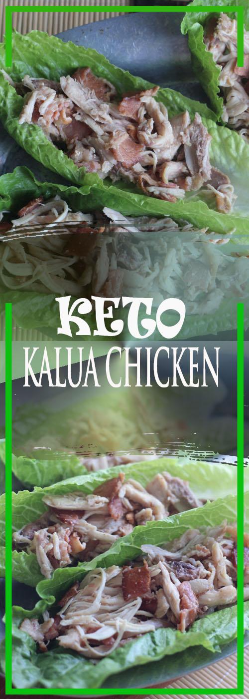 KETO KALUA CHICKEN RECIPE