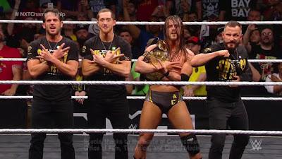 NXT Champ Bay Bay