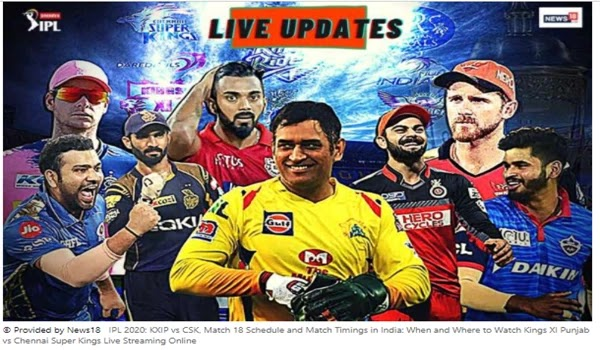 IPL 2020: KXIP vs CSK in India, Match 18 Schedule and Match Timings: Kings XI Punjab vs Chennai Super Kings Live Streaming Online