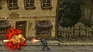 Game chiến đấu với zombie nghẹt thở