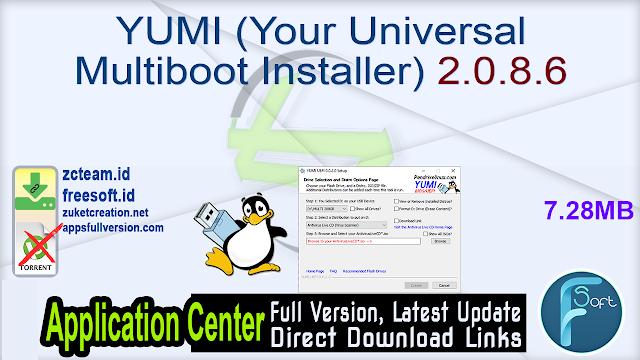 YUMI (Your Universal Multiboot Installer) 2.0.8.6