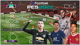 Download eFootball PES 2022 PPSSPP Latest Transfer And Kits Season 2021/22 & English Commentary