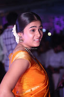 Shalini Pandey in Beautiful Orange Saree Sleeveless Blouse Choli ~  Exclusive Celebrities Galleries 004.JPG