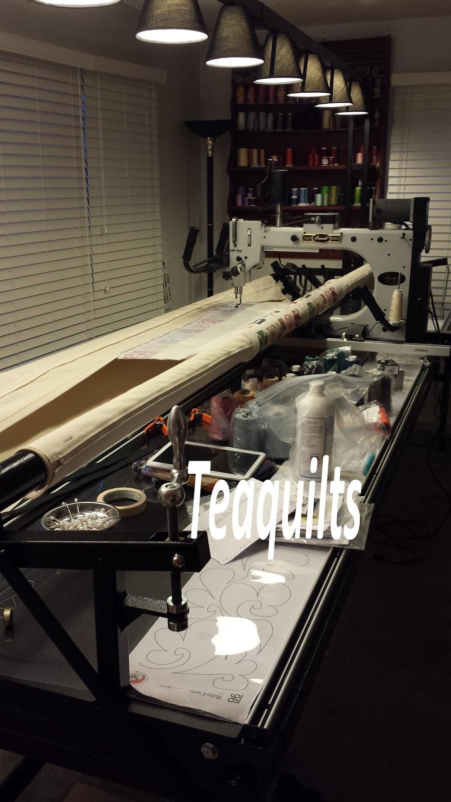 Teaquilts Long Arm Quilting Machine