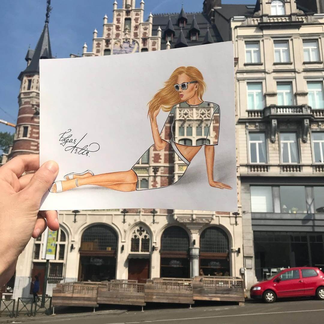 12-Memories-from-Brussels-Edgar-Artis-Drawing-with-Everything-Food-Art-and-More-www-designstack-co