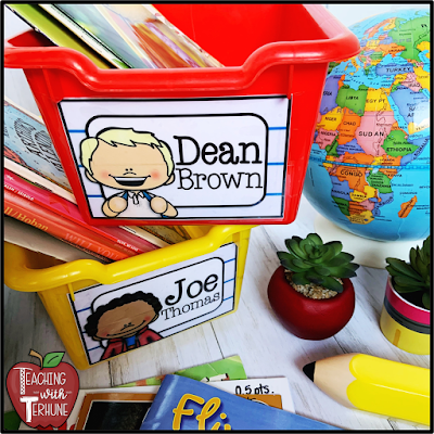Rectangular Classroom Labels