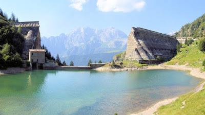 Gite in Lombardia - Diga e lago del Gleno - Vilminore di Scalve