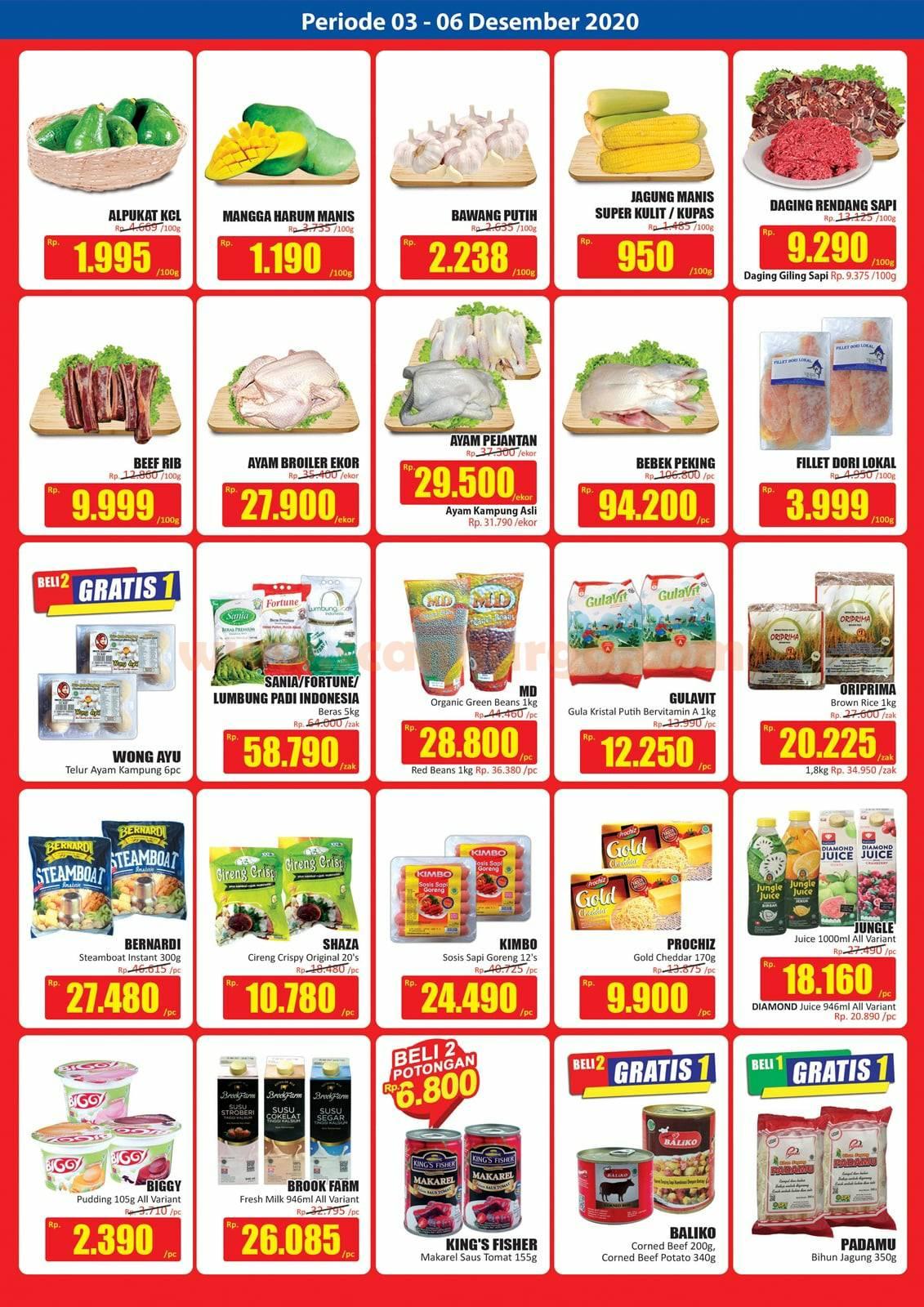 Katalog Promo JSM Hari Hari Swalayan Weekend 3 - 6 Desember 2020 2