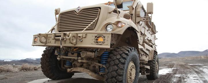 Незалежна підвіска – основа мобільності війської техніки