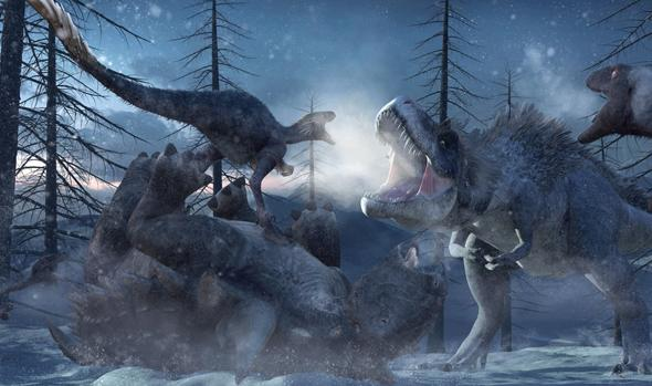 Los dinosaurios murieron en medio del frío y la oscuridad Dinos%2Bextincion-kvZG--620x349%2540abc