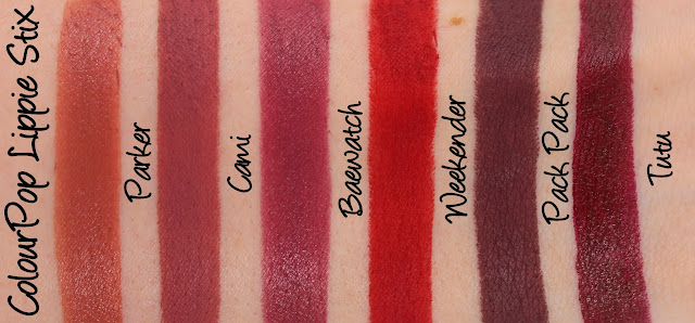 ColourPop To and From Lippie Stix Set Swatches & Review
