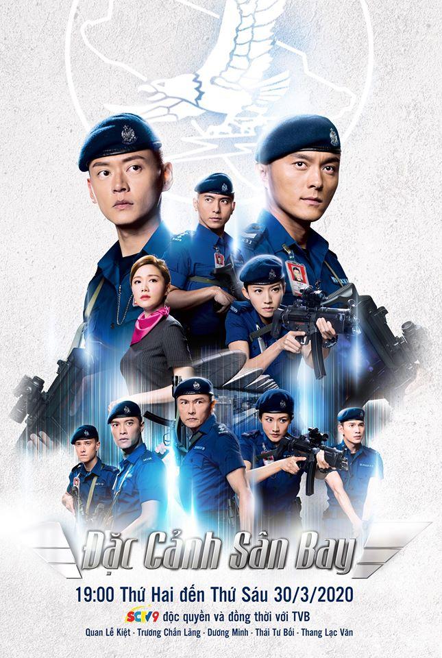 Xem Phim Đặc Cảnh Sân Bay - TVB - SCTV9 Full Vietsub | Thuyết Minh HD Online