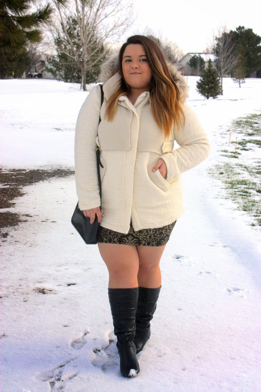 Winter Hues Natalie In The City A Chicago Plus Size Fashion Blog By Natalie Craig