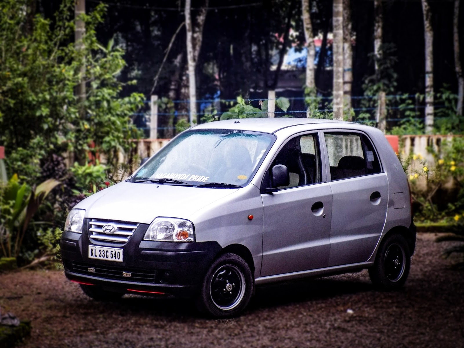 medium resolution of santro car modified
