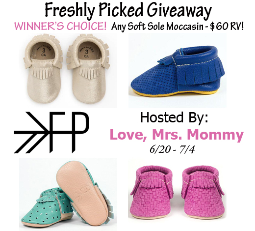 Blogger Opp - Freshly Picked Moccasins Giveaway - A Wandering Vine