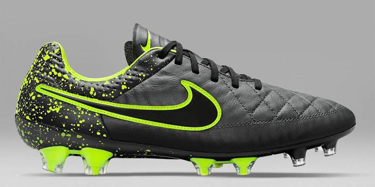 huge discount 98653 37711 Nike Tiempo Legend V Anthracite   Black   Volt