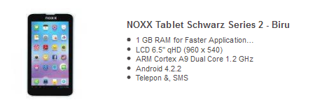 tablet android murah noox