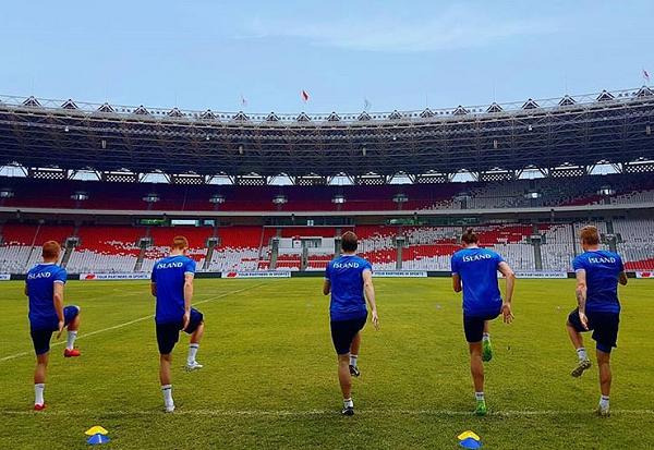 Timnas Islandia Sudah Mulai Jajal Stadion GBK