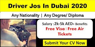 Driver Job Recruitment For IT Company Dubai