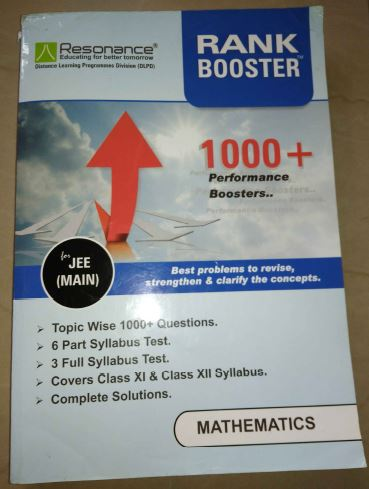 Mathematics Rank Booster : for JEE Exam PDF Book
